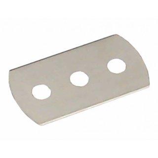 10 St. Dreilochklinge Ersatzklinge / Rasierklinge z. B. für Doppelschnittmesser