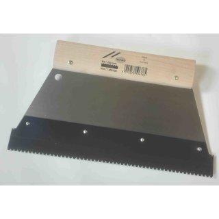 Mutterspachtel PROFESSIONAL für Zahnleisten, Breite 280 mm TKB B2