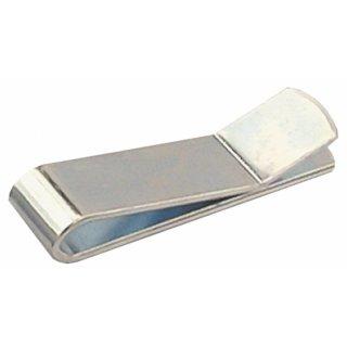 Klammer Clip für Tapetenschiene verhindert das Abrollen der Tapezierschiene