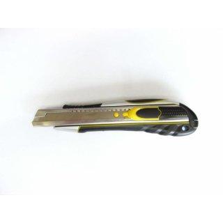 Deluxe Abbrechmesser Teppichmesser Cuttermesser Alu Softgriff f. 18mm Klingen