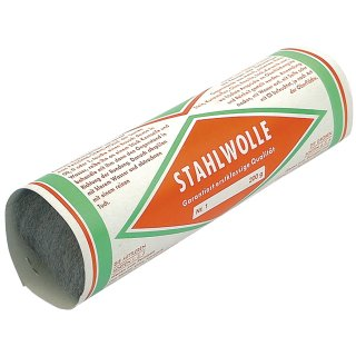 Stahlwolle 200 g, Nr. 000 extra fein Spitzenqualität, besonders zäher Stahldraht