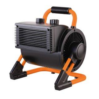 Friess-Techno Keramikheizer 3000 W Bauheizer Bauheizgerät, 3-stufig mit Thermostat