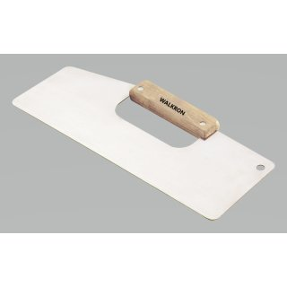 Tapeten-Andrückspachtel Tapezierspachtel 335 mm Edelstahl poliert