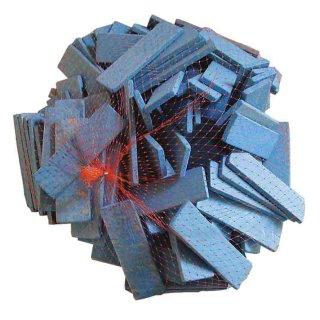 Holz Distanzklotz für Glaser - 100 Stück Distanzklötze á 6 mm
