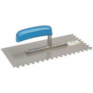 Zahnkelle - Zahnung: 6 mm Normalstahl Amerikanische Glättekelle